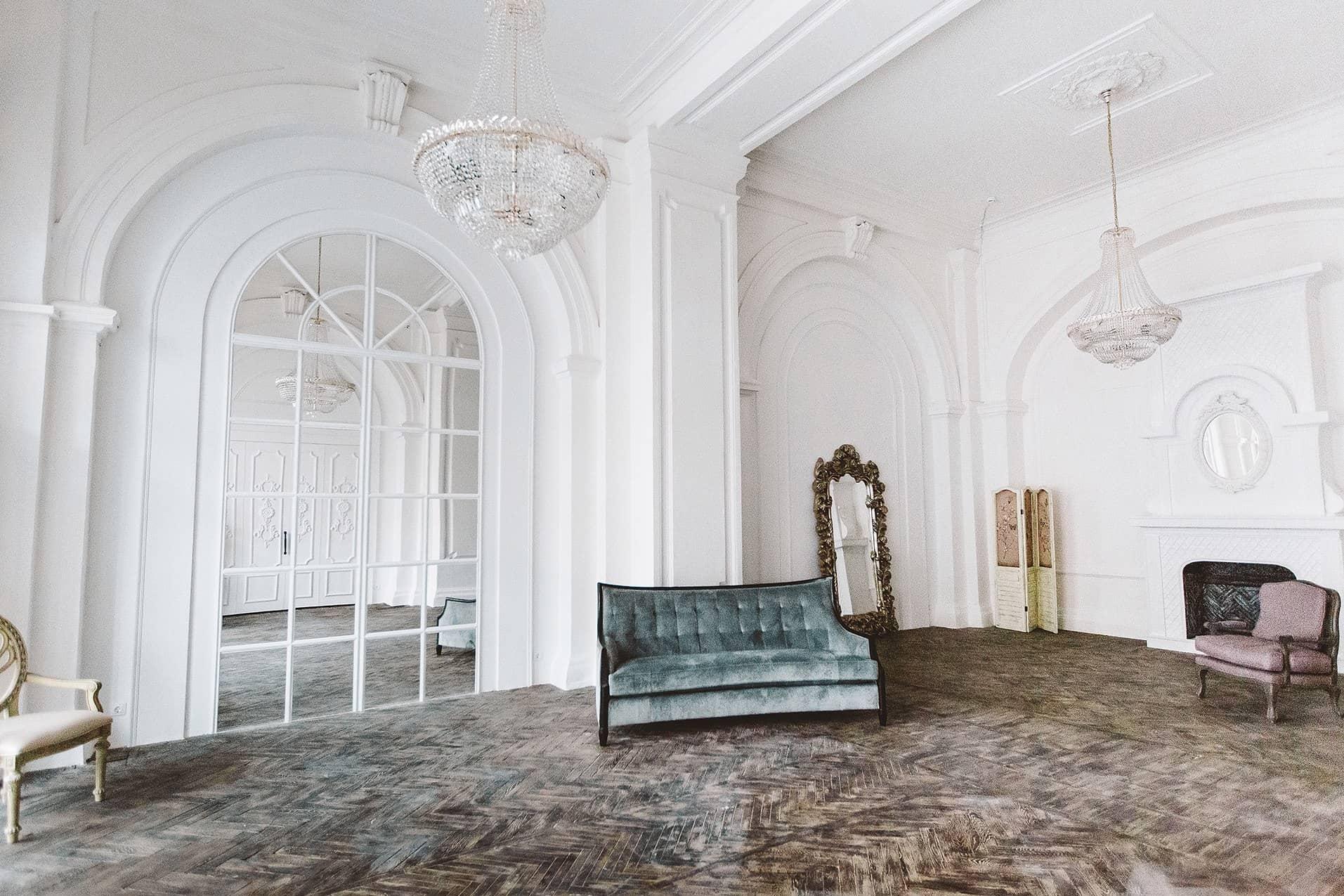 Фотостудия в стиле дворца